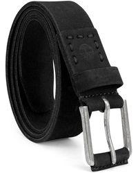 Timberland 35Mm Classic Leather Jean Belt - Noir