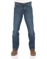 Wrangler - W44 - Jeans da Uomo Texas Stretch Regular - Lyst