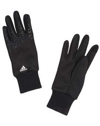 adidas Golf 2019 S Climawarm Thermal Touchscreen Ladies Golf Gloves - Black