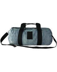 PUMA XO 075296 01 Sac de sport en denim e Bleu Taille L - Noir