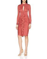 INTROPIA Vestido para Mujer - Rojo