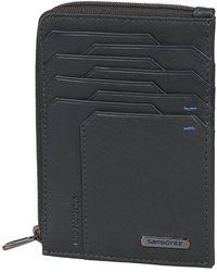 Samsonite All-In-One Wallet With Zip Around Porte-Carte de - Gris