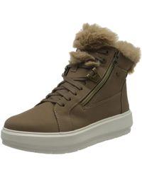 Geox - D KAULA B ABX D DK BEIGE/BEIGE Boots Snow size 41(EU) - Lyst