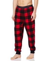 Calvin Klein Jogger pantalones térmicos - Rojo