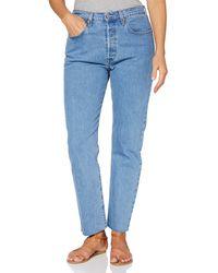 Levi's 501 Crop Jeans - Azul