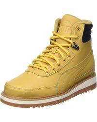 PUMA Adults' Desierto V2 Snow Boot - Yellow