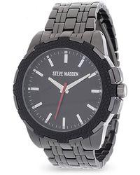 Steve Madden Fashion Watch - Black