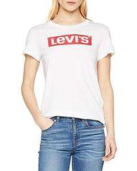 Levi's The tee' Camiseta para Mujer - Blanco