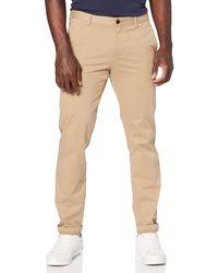 Tommy Hilfiger Tailored HMT-W PNTSLD99002, Pantalones para Hombre, Beige (203), única (Talla del Fabricante: 94) - Neutro