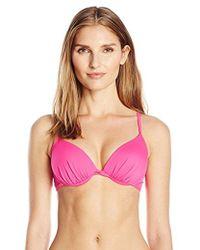 Oakley - Core Solids Sport Bra Bikini Top - Lyst