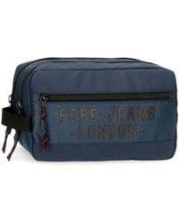 Pepe Jeans Sac à Dos avec bandoulière Bromley Bleu