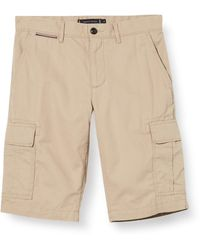 Tommy Hilfiger Lightweight Cargo Shorts - Natural