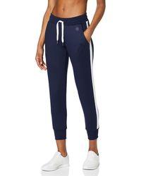 AURIQUE Amazon-Marke: sport leggings BALSFP1L09 - Blau