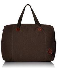 Alternative Apparel Premium Weekender Tote - Brown