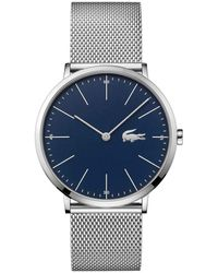 Lacoste - Tr90 Quartz Watch With Rubber Strap, Blue, 20 (model: 2011011) - Lyst