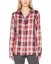 c08f41c6fb0877 Tommy Hilfiger Gigi Hadid Tartan Flannel Shirt in Blue - Lyst
