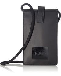 HUGO Quantum Neck Pouch - Black