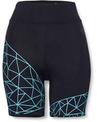 AURIQUE Cycling Shorts - Blue