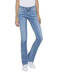 Replay Luz Jeans Bootcut - Bleu