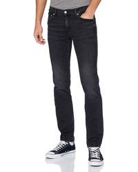Calvin Klein Ckj 035 Straight Pantalones - Azul