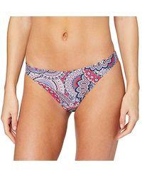 Esprit Maldives Beach Mini Brief Braguita de Bikini para Mujer - Multicolor
