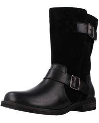 Clarks Demi Flow S Casual Boots 4 Uk Black Combi