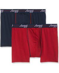 Sloggi Start Ho Short C2p Hipster - Blue