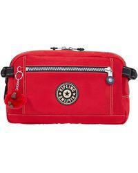 Kipling Bum Bag Holder Vintage Poliammide 8.5 I - Rosso