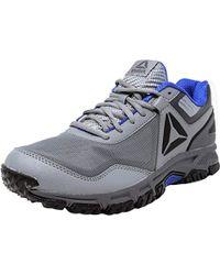 Lyst - Reebok Ridgerider Trail 2.0 Grey   Black Violet Pewter Silver ... 376a35b61