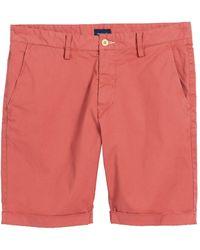 GANT Regular Sunbleached Chino Shorts - Multicolour