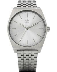 adidas Analogue Quartz Watch With Stainless Steel Strap Z02-1920-00 - Metallic