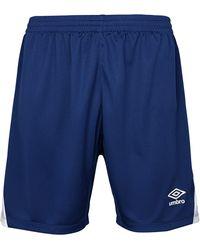 Umbro Erwachsene Vertex Shorts - Blau