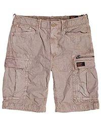 Superdry Parachute Cargo Shorts - Natur