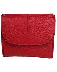 Esprit Colby Small City Wallet Red