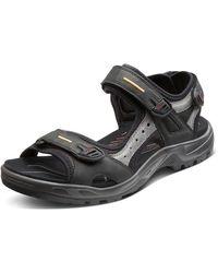 Ecco Yucatan Outdoor Sandal Sport - Black
