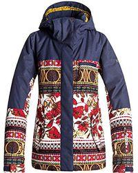 Roxy - Torah Bright Jetty Snow Jacket - Lyst
