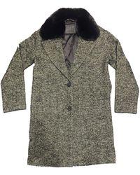 Levi's 0001 teau avec passepoil en cuir synthétique pour femme - Noir - Multicolore