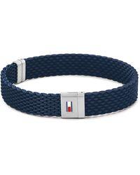 Tommy Hilfiger Rope Bracelets - Blau