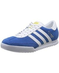 b13776b5d5d adidas Beckenbauer Med Leadgry Ex in Gray for Men - Lyst