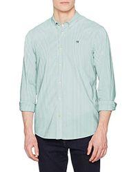 Scotch & Soda - Regular Fit-Classic Oxford Shirt, Camicia Uomo, Bianco (Combo A 0217), Large - Lyst
