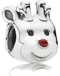 PANDORA Original Element 791781 En39 Rudolph New Charm Bead - Multicolour