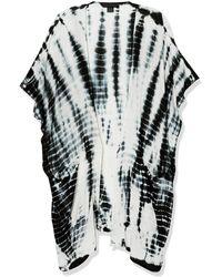 Steve Madden Sun Bleached Kimono - Black