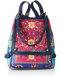 Desigual - Pu Backpack Big - Lyst