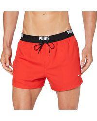 PUMA Pantaloncini da Nuoto - Rosso