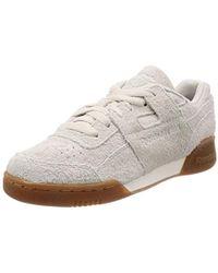 1da5ed3c5f5ef Reebok Workout Plus Mu Fitness Shoes in Natural for Men - Lyst