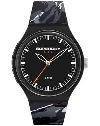 Superdry Montre décontractée SYG270EB - Noir