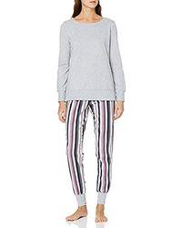 Esprit Jolien Cas Nw Pyjama Zweiteiliger Schlafanzug - Mehrfarbig