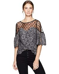 Plenty by Tracy Reese - Lce Blouse - Lyst
