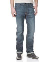Levi's 506 Regular Straight - Jeans, Uomo Blu (Blau (Wet Sand)), 46 IT (36W/34L)
