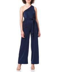 Vero Moda Vmjayna One Shoulder Jumpsuit Tlr Ce - Blue